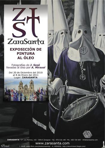 Exposición de pintura Alex Mirasol en Zarasanta