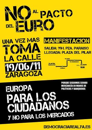 19 J. Manifestación Zaragoza.